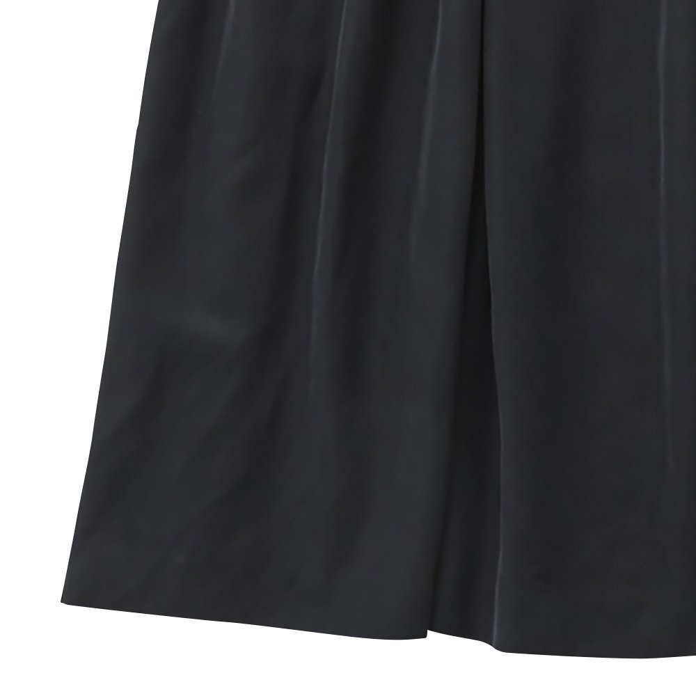 modal belted long dress black - adult img3