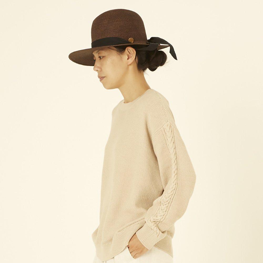 moss stitch sweater ivory - adult img5