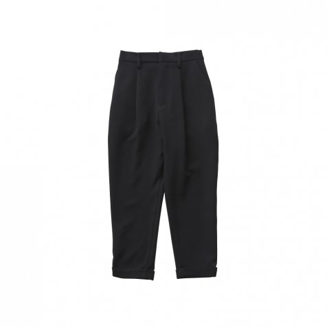 【8月入荷予定】tuck pants black - adult