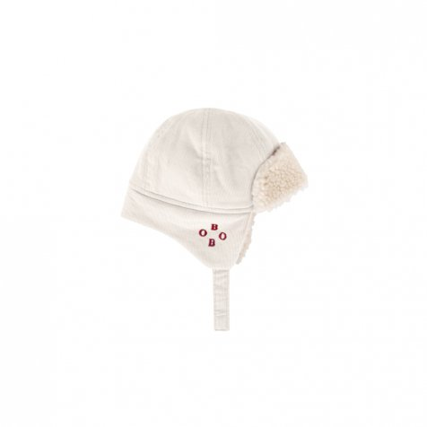 2019AW No.219277 BEIGE Sheepskin Baby Hat