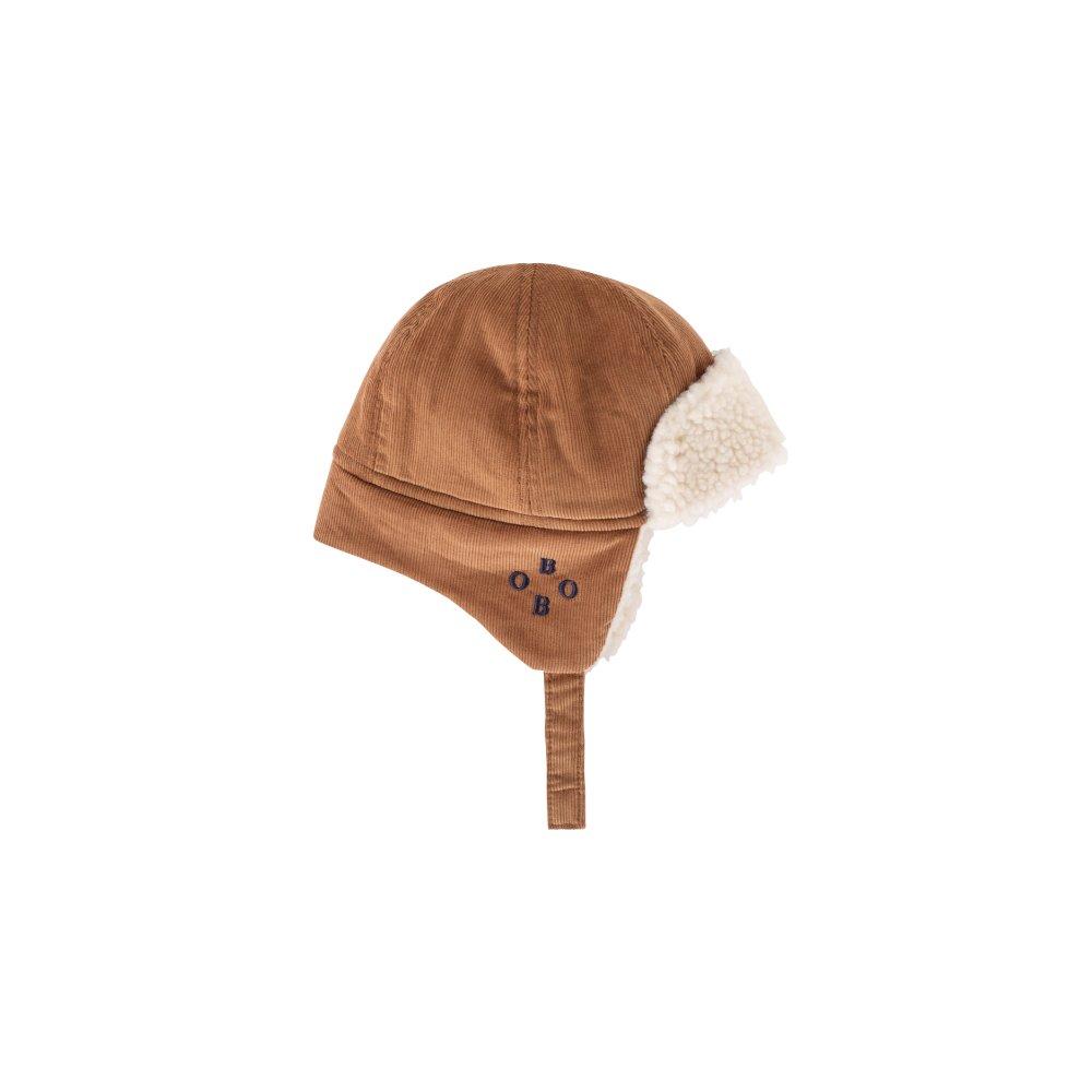 2019AW No.219278 KHAKI Sheepskin Baby Hat img
