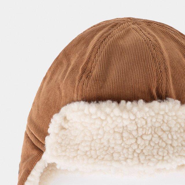 2019AW No.219278 KHAKI Sheepskin Baby Hat img1