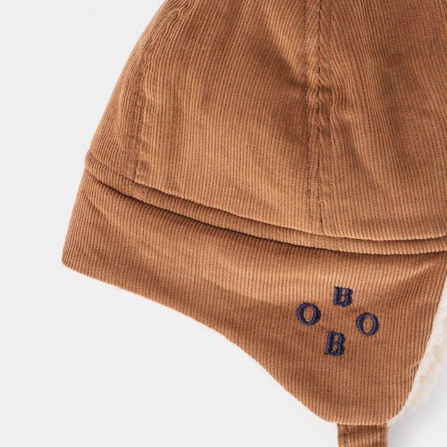 2019AW No.219278 KHAKI Sheepskin Baby Hat img4
