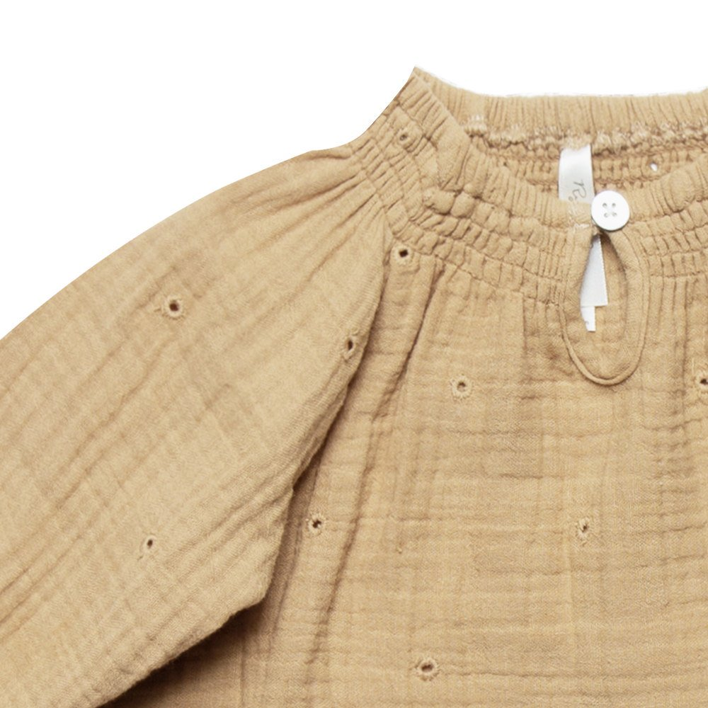 eyelet quincy blouse img1