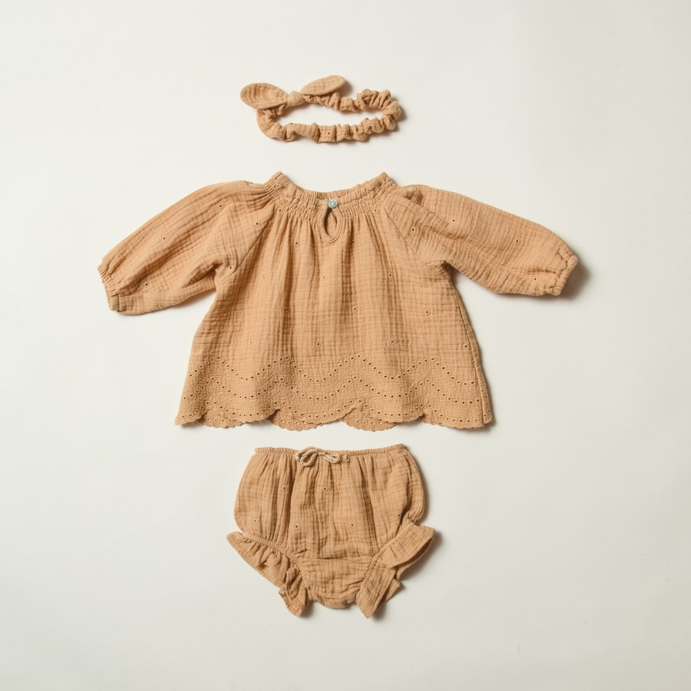 【30%OFF】eyelet quincy blouse img5