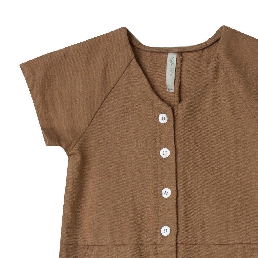 utility jumpsuit caramel img1