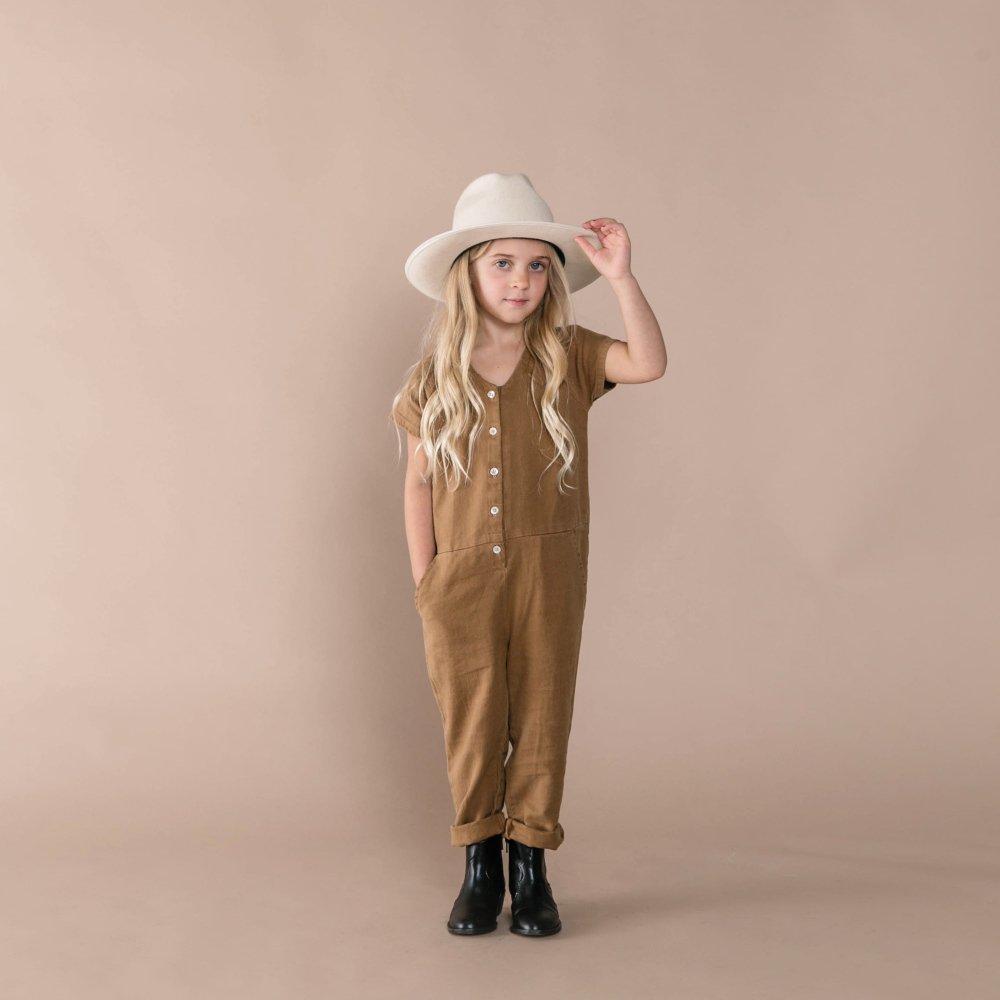 utility jumpsuit caramel img7