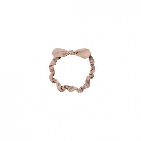 baby bow headband truffle