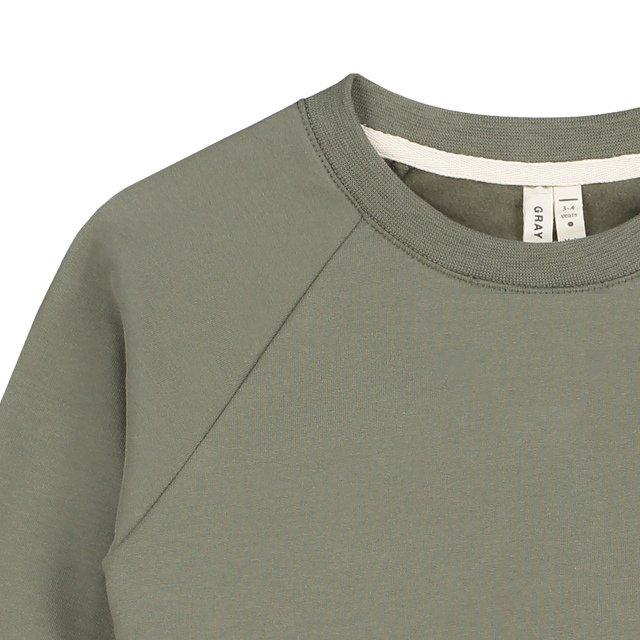 Crewneck Sweater Moss img1