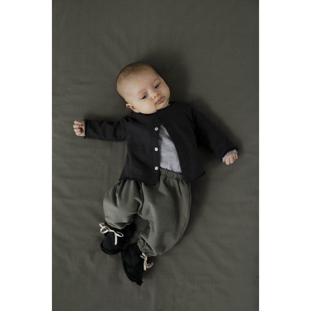 Baby Ribbed Booties Vintage Pink img5
