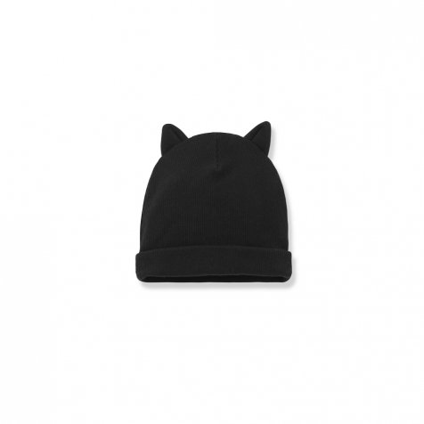 PARIS beanie w/ears black