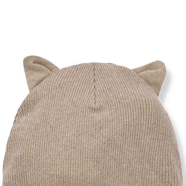【30%OFF】PARIS beanie w/ears beige img1