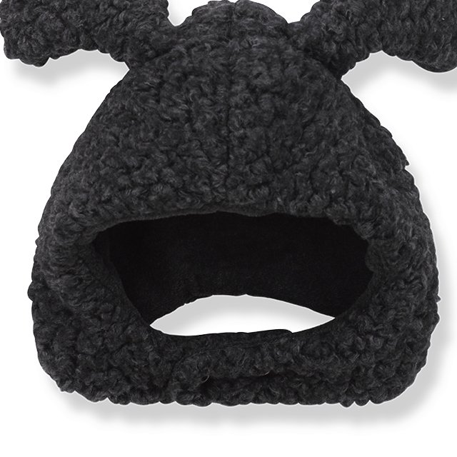 BANFF beanie w/ears black img2