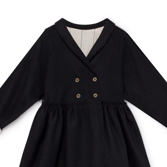 【50%OFF】Tailored Coat black img5