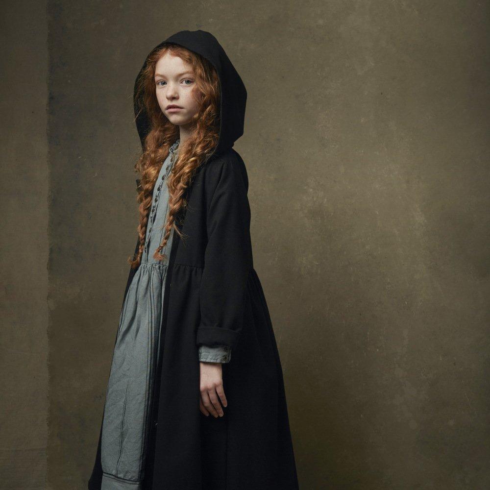 【8月末入荷予定】Smart Hooded Dress black img