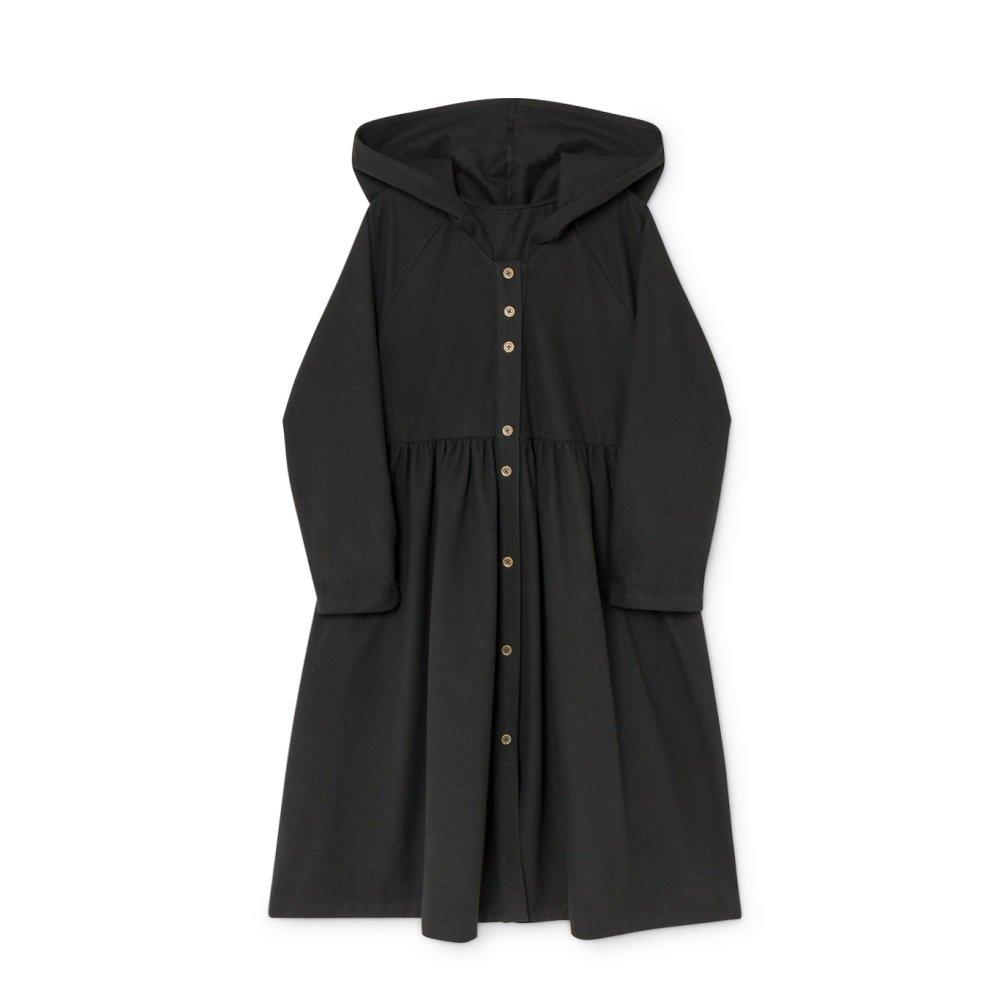 【8月末入荷予定】Smart Hooded Dress black img2
