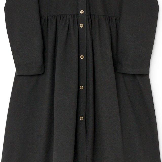 【8月末入荷予定】Smart Hooded Dress black img4