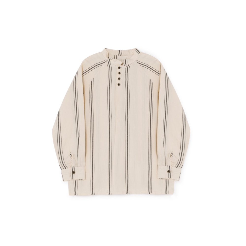 Striped Blouse Cream img