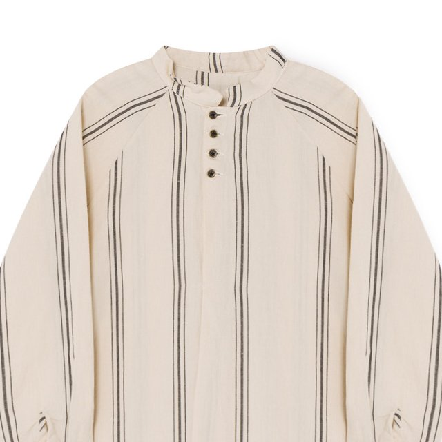 Striped Blouse Cream img1