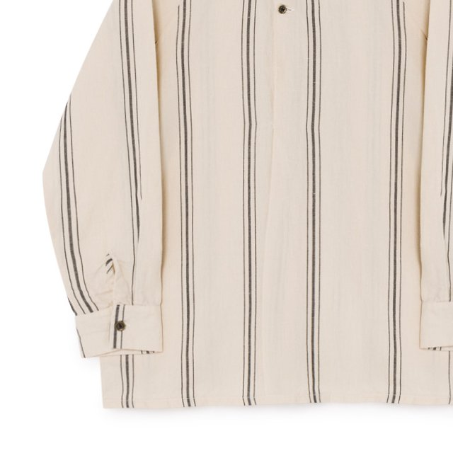 Striped Blouse Cream img2