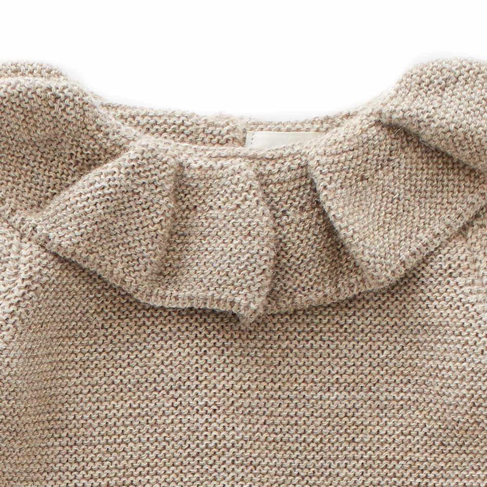 ruffle neck sweater grey img4