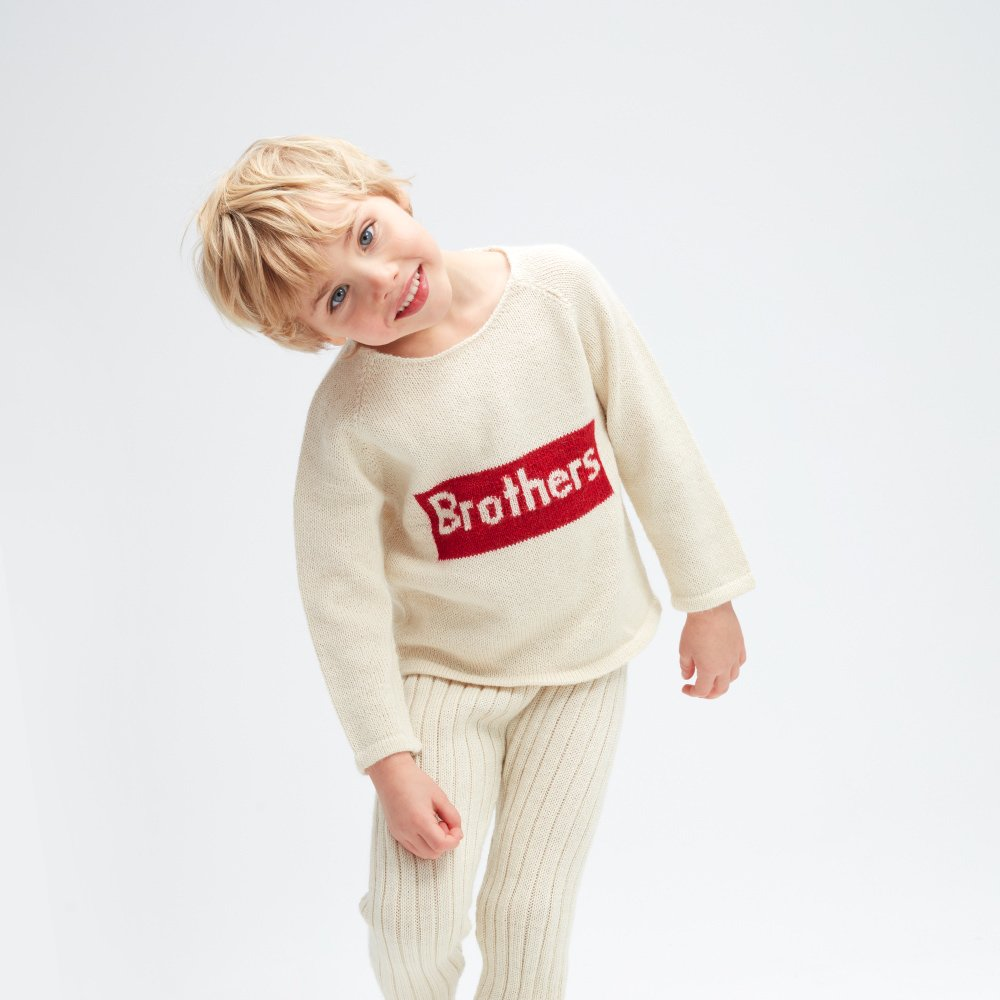 【30%OFF】brothers sweater img4