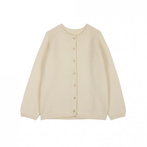 【10月発送予定】Armel cardigan Hotmilk