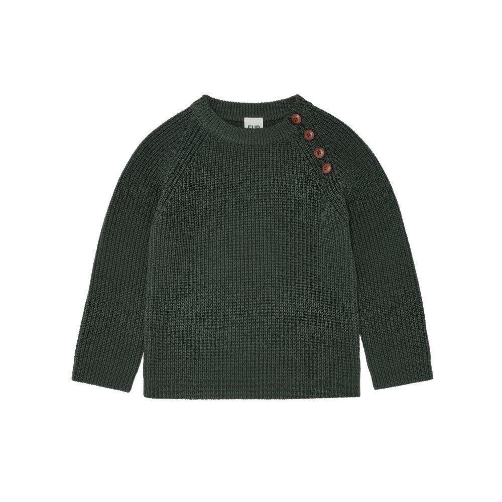 【50%OFF】1919 AW Sweater rib GREEN img1