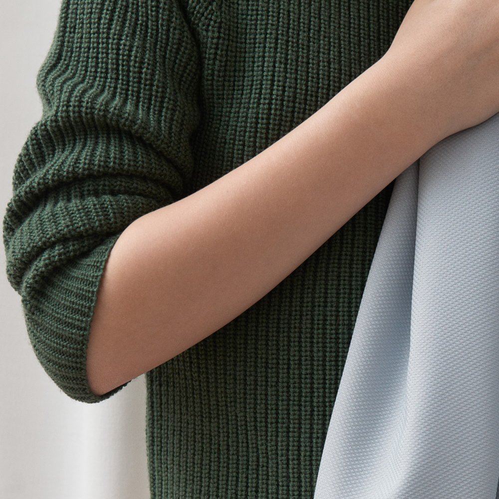 【50%OFF】1919 AW Sweater rib GREEN img5