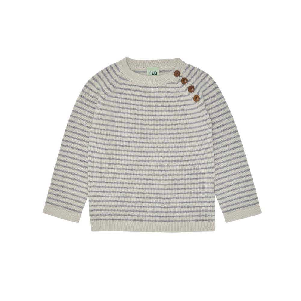 【30%OFF】1919 AW Sweater ECRU / LIGHT GREY img1
