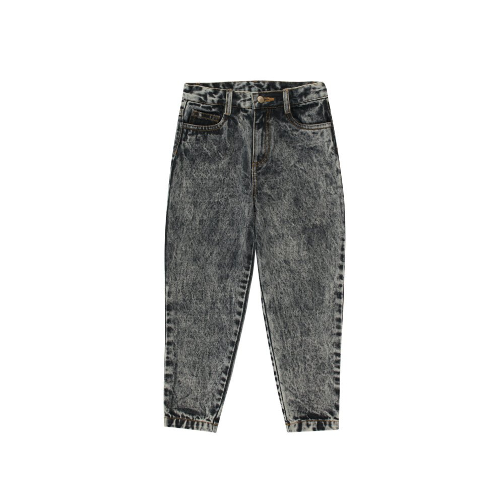 【30%OFF】BAGGY JEANS snowy black img