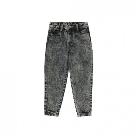 【30%OFF】BAGGY JEANS snowy black