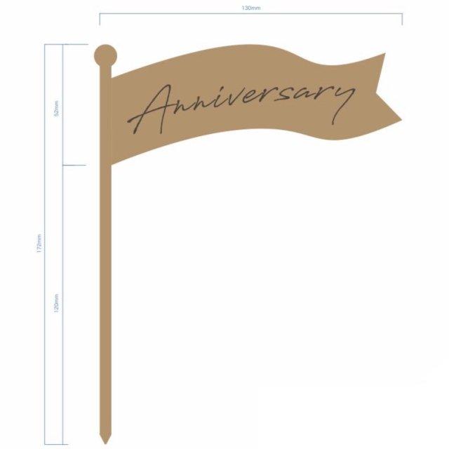 ケーキトッパー anniversary set img3