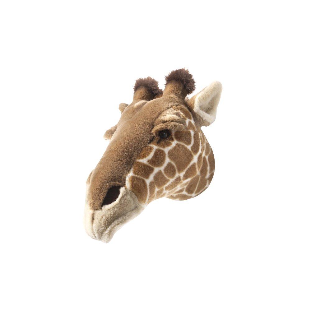 Animal Head Giraffe 剥製風のぬいぐるみ・きりん img