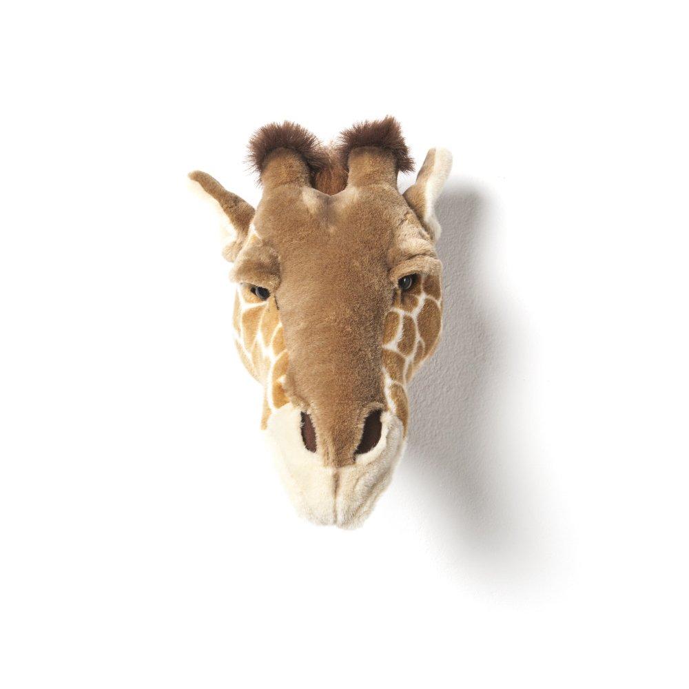 Animal Head Giraffe 剥製風のぬいぐるみ・きりん img1