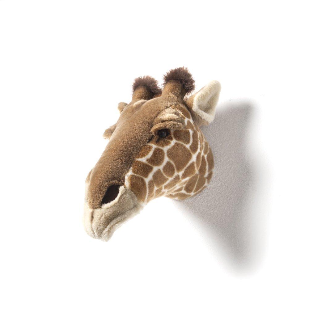 Animal Head Giraffe 剥製風のぬいぐるみ・きりん img3