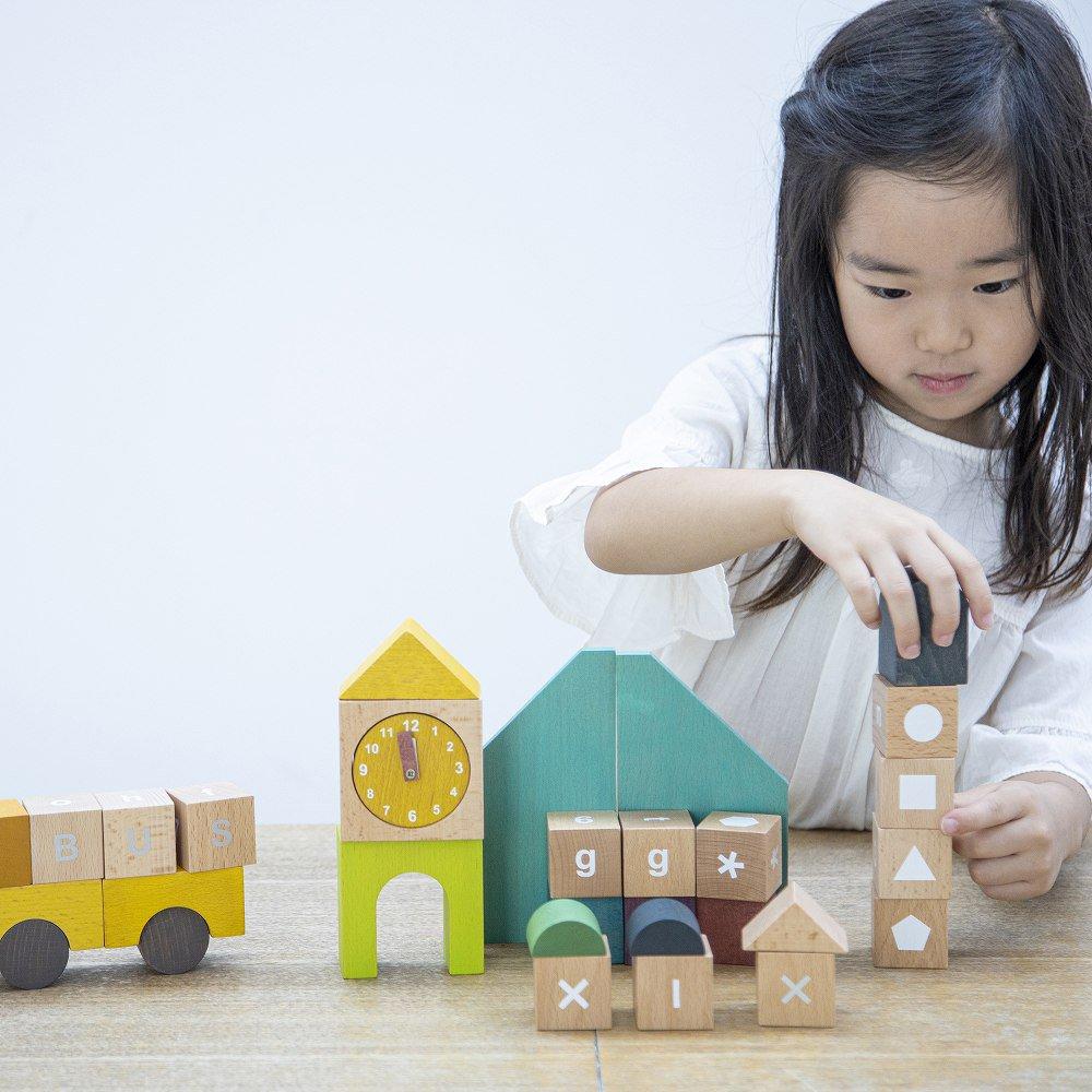 【NEW!】tsumiki school 学べる学習積み木 img5