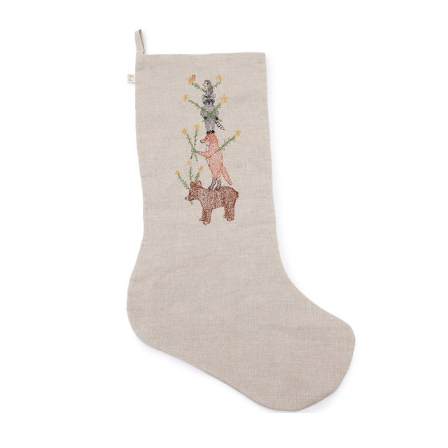 Animal Tree Large Stocking img