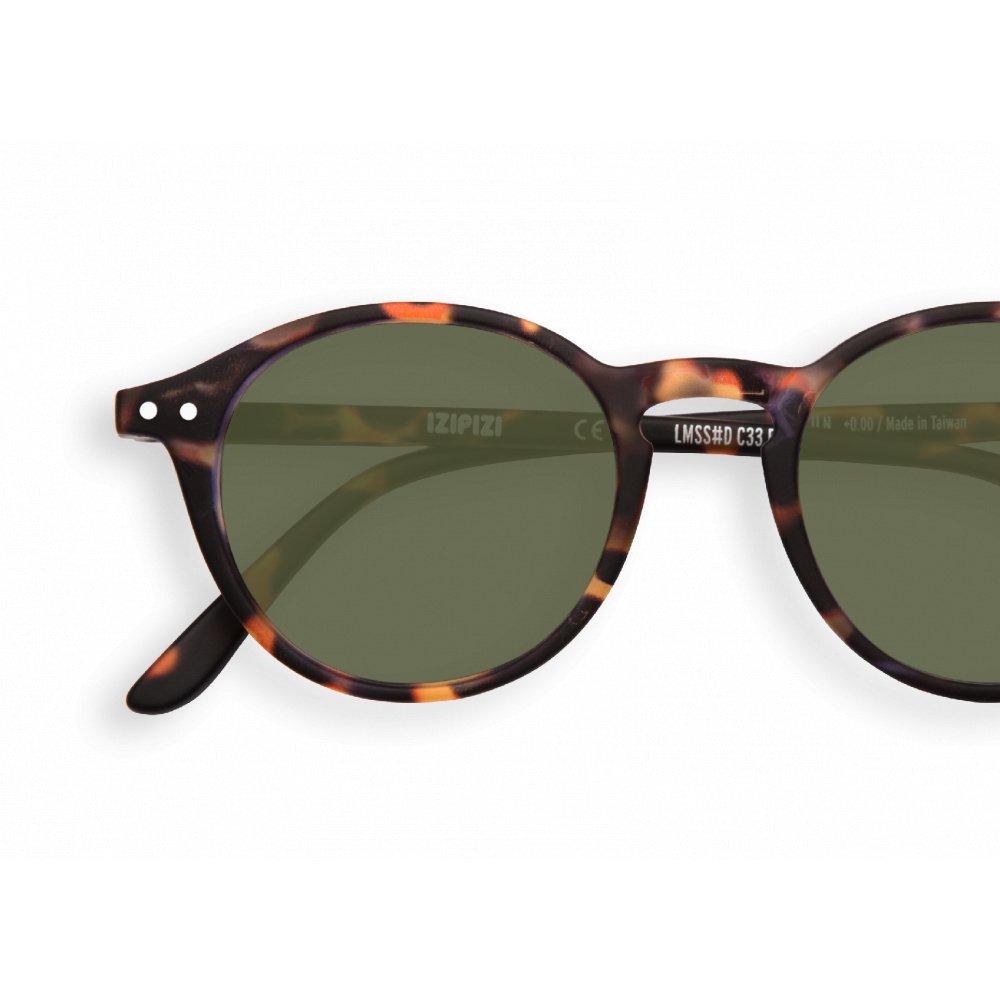 SUN サングラス #D TORTOISE Green Lenses img1