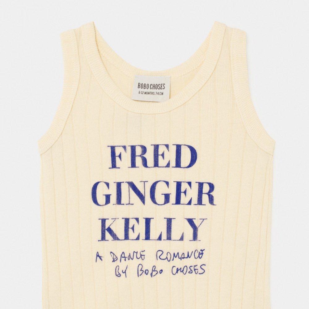 2020SS No.12000025 Fred, Ginger & Kelly Sleeveless Body img1
