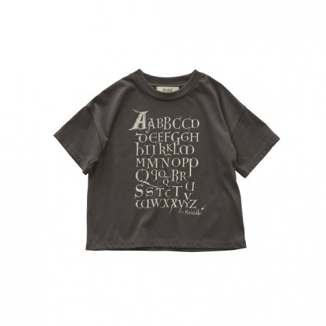 Maktub T-shirt charcoal