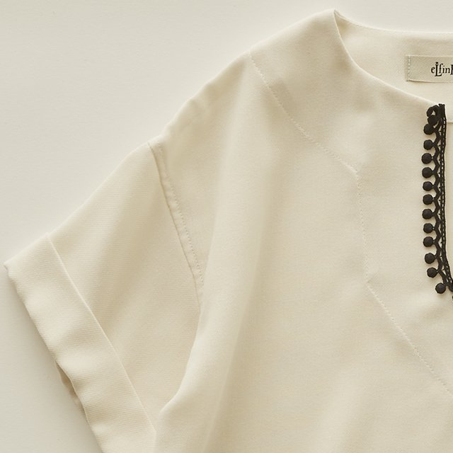 Moroccan shirts ivory img1