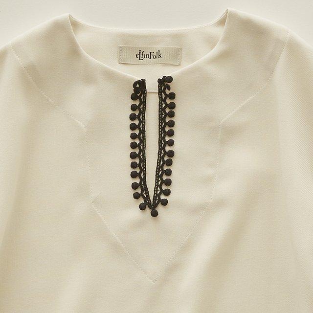 Moroccan shirts ivory img2