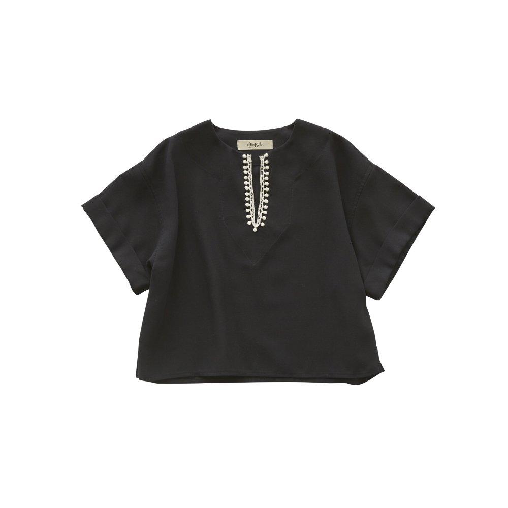 Moroccan shirts dark navy img