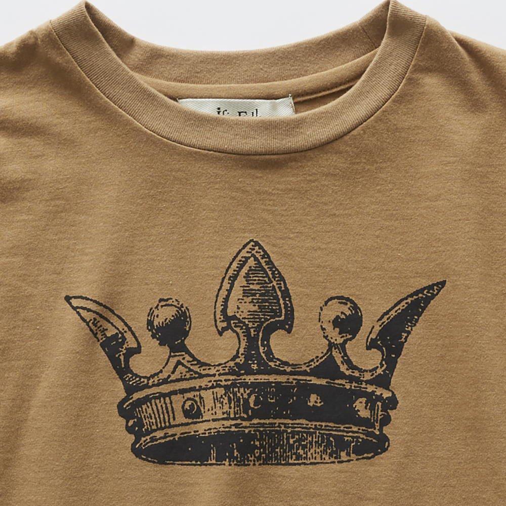 crown T-shirt camel img2