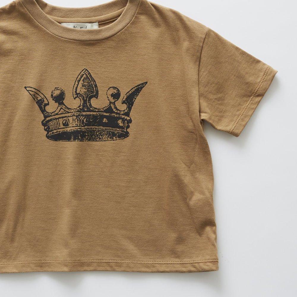 crown T-shirt camel img3