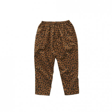 【2月末発送予定】leopard pants brown
