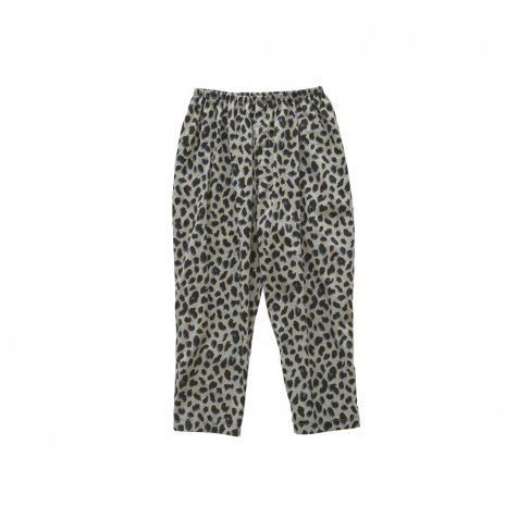 【2月末発送予定】leopard pants gray