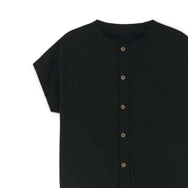 【20%OFF】Crushed Cotton Shirt Black img8