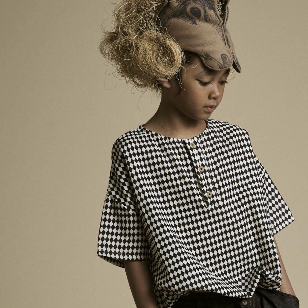 【2月末発送予定】Tiny Diamond Shirt Black img